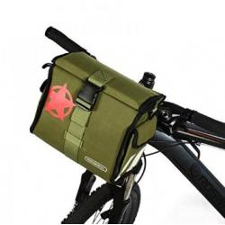 Roswheel Wasserabweichende Fahrrad Lenkertasche Kameratasche Umhängetasche (schwarz)