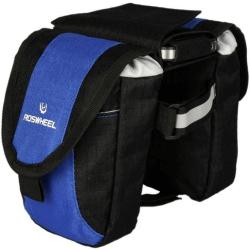 Roswheel Wasserabweichende Fahrrad Rahmentasche (Schwarz-Blau)