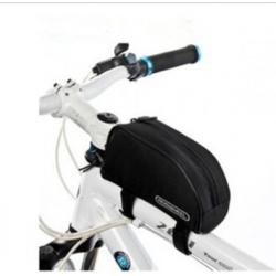 Roswheel Wasserabweichende Fahrrad Rahmentasche (Schwarz)
