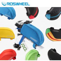 Roswheel Wasserabweichende Fahrrad Rahmentasche (Rot)