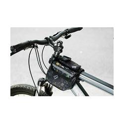 Roswheel Wasserabweichende Fahrrad Rahmentasche (Braun)