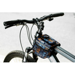 Roswheel Wasserabweichende Fahrrad Rahmentasche (Grau)