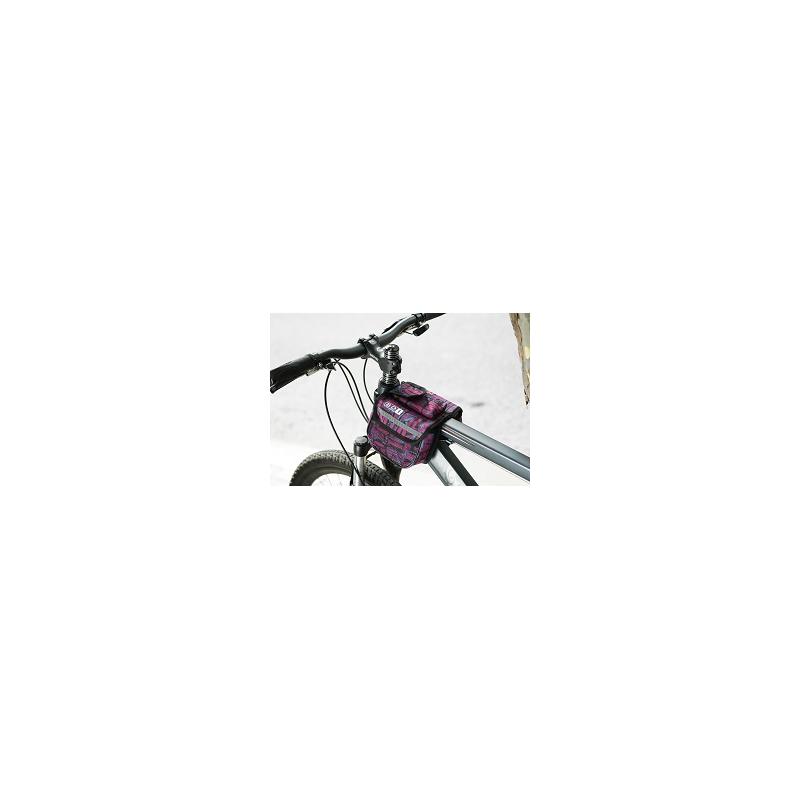 Roswheel Wasserabweichende Fahrrad Rahmentasche Lila