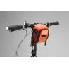 Roswheel Wasserabweichende Fahrrad Lenkertasche (orange)