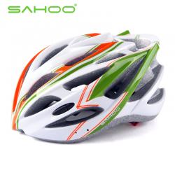 SAHOO Fahrradhelm Grün