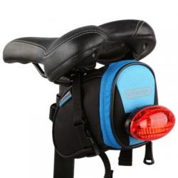 Roswheel Fahrrad Satteltasche Blau