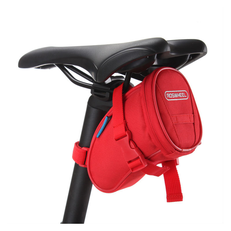 Roswheel Fahrrad Satteltasche Rot
