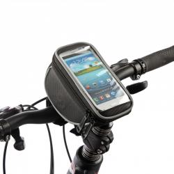 ROSWHEEL Fahrrad Lenkertasche für Touch Screen Handy