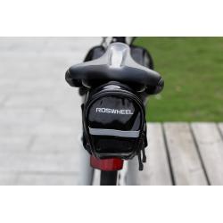 Roswheel Fahrrad Satteltasche Schwarz