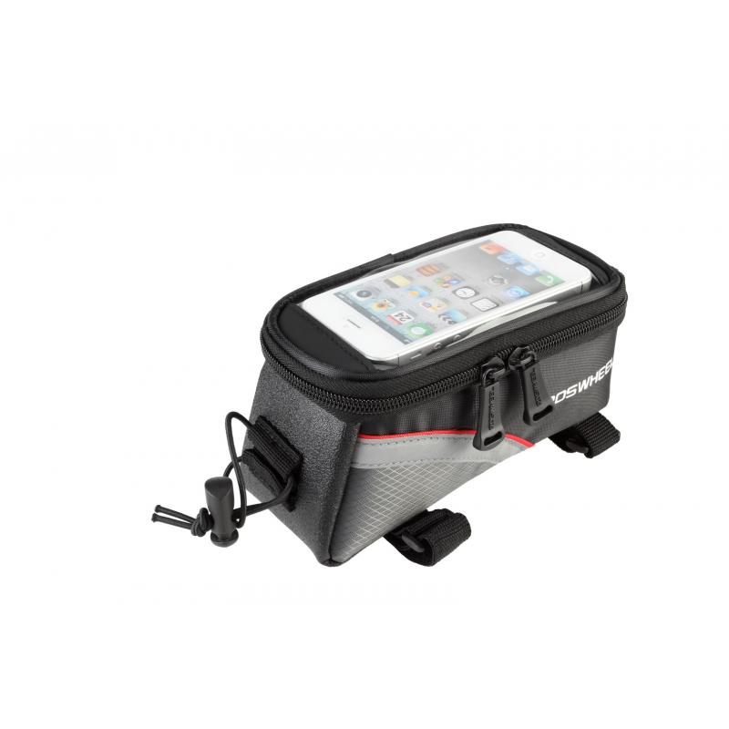 Roswheel Fahrrad Rahmentasche für Touch Screen Handy Größe L