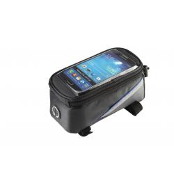 Roswheel Fahrrad Rahmentasche für Touch Screen Handy Schwarz Größe L
