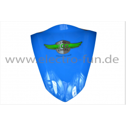 Frontblende Dreieck Groß Hellblau