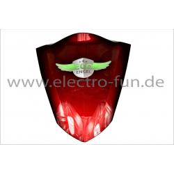Frontblende Dreieck Groß Rot