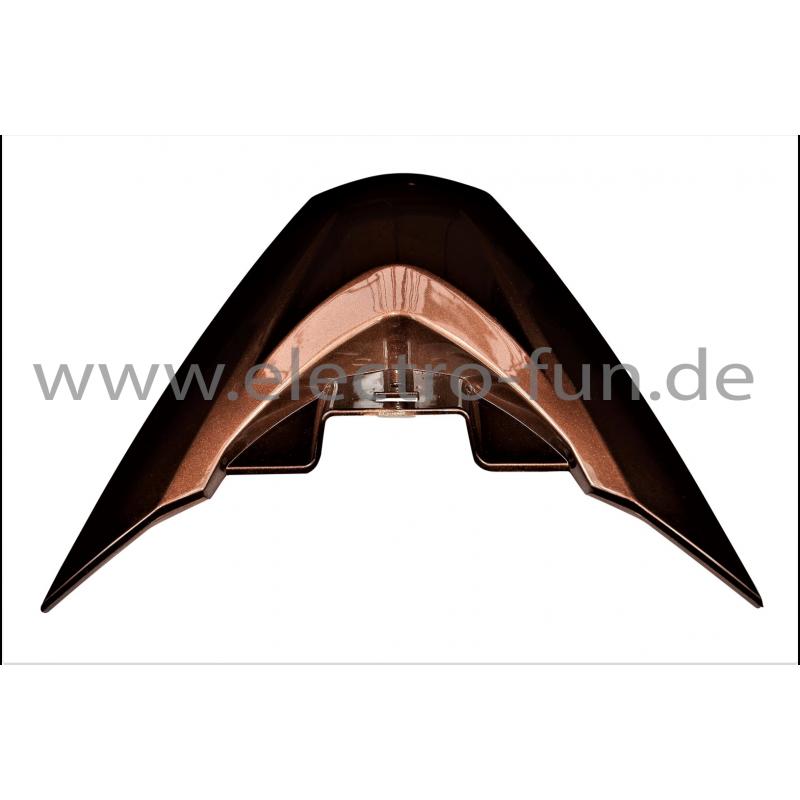 Frontblende Dreieck klein Braun