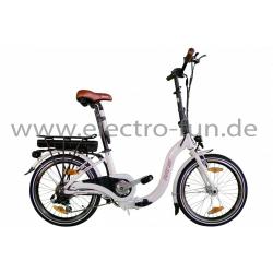 Elektrofaltrad RANIS Foldy 6 Weiß