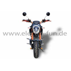 Elektro Motorrad Ranis 2000 grün