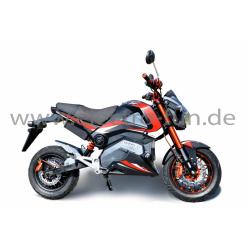 E-Motorrad Ranis 2000 Rot NEU 2200 Watt Motor Li-Io Akku