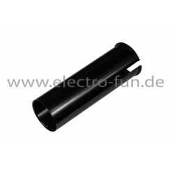 Sattelstütze-Reduzierhülse Aluminium Schwarz 34 auf 33