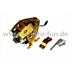 LED Vorderlicht gold 12V-48V Elektro Scooter