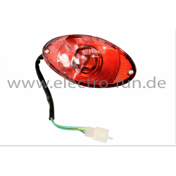 Rücklicht 12V 5W/10W Bremsfunktion Elektro Scooter