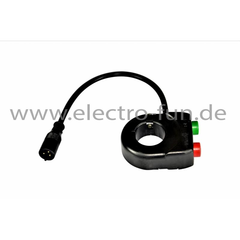 Funktionsschalter für Licht und Hupe Elektro Scooter