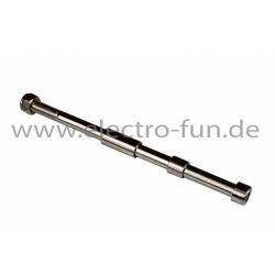 Radachse L 180mm Abstandshalter 28mm 9mm