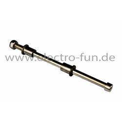 Radachse L 190mm Ø 9mm   Abstandshalter 22mm  22mm
