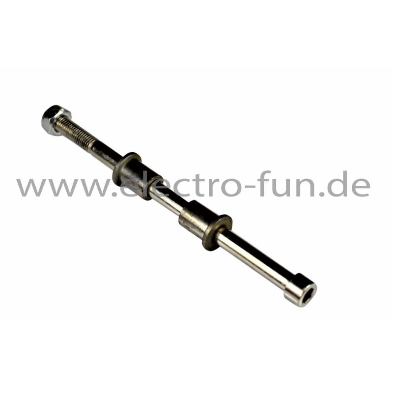 Radachse L 210mm Ø 9mm Abstandshalter 22mm 22mm