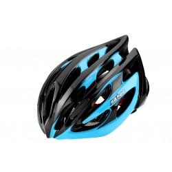 SAHOO Fahrradhelm Schwarz/Blau
