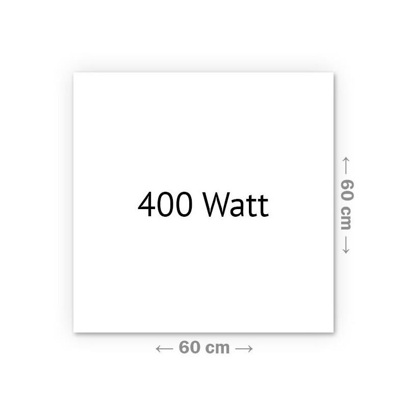 Infrarotheizung Klassik 400 Watt 60 x 60 cm