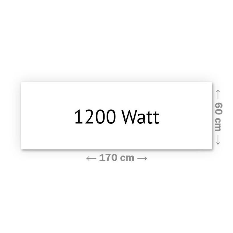 Infrarotheizung Klassik 1200 Watt 60 x 170 cm