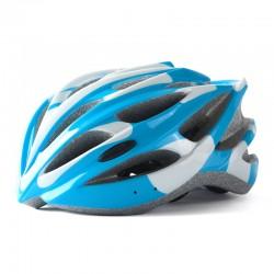 SAHOO Fahrradhelm Weiß/Blau