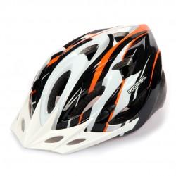 SAHOO Fahrradhelm Weiß/Schwarz