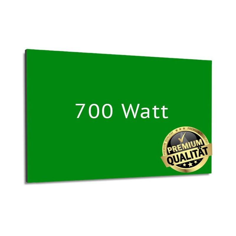 Infrarotheizung Glas RAL 400 Watt mit Rahmen 60 x 70 cm