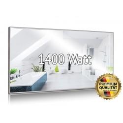 Infrarotheizung Spiegel 1400 Watt mit Rahmen 80 x 200 cm