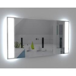 Infrarotheizung Spiegel 400 Watt rahmenlos mit LED Beleuchtung 60 x 90 cm