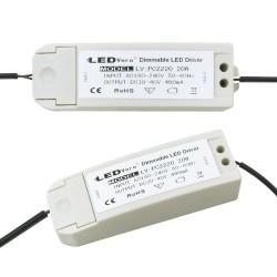 20W LED Transformator dimmbar für 30x60 Ultraslim LED Panel EMV2016 Trafo Treiber Driver Controller