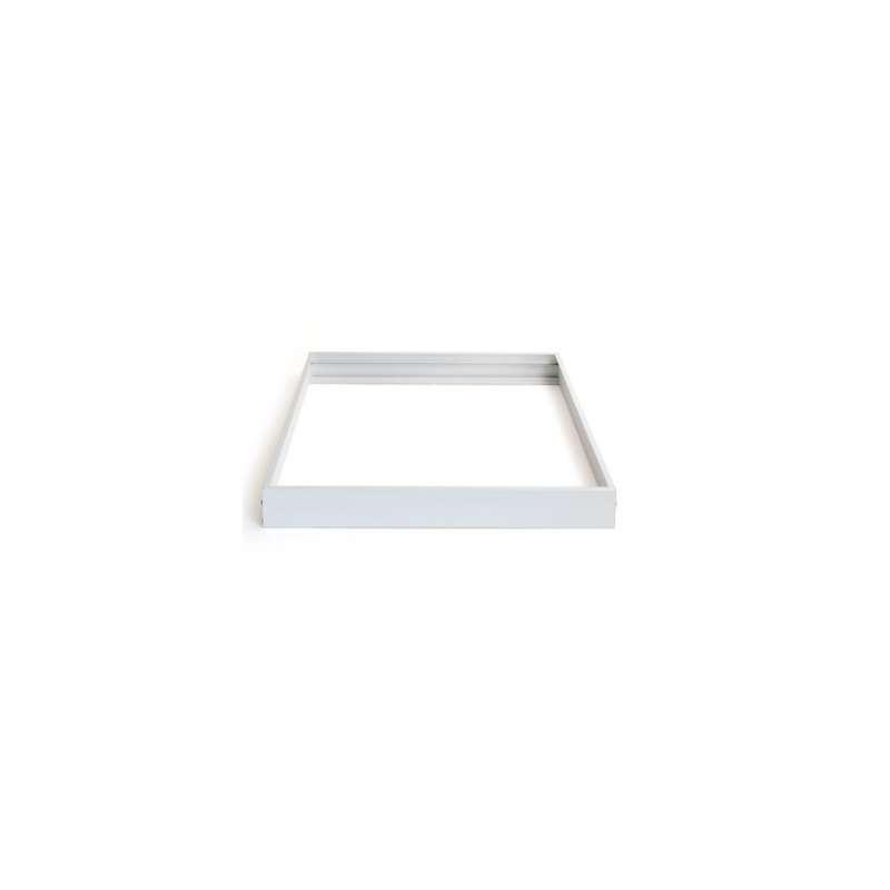 LED Panel Alu-Profil 30x30 Weiß Aufbaumontage