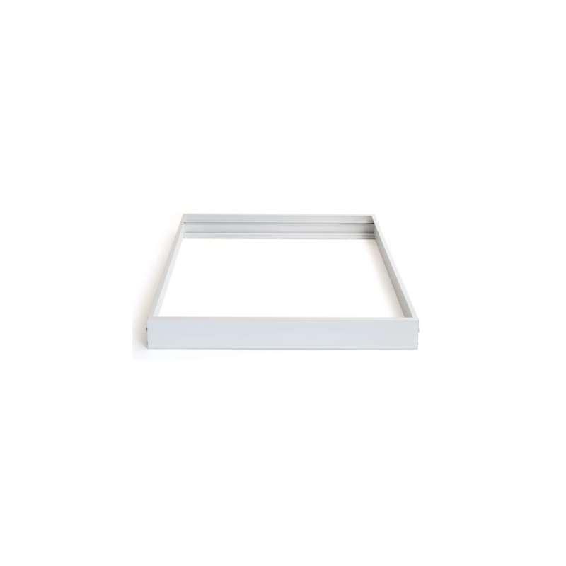 LED Panel Alu-Profil 62x62 Silber Aufbaumontage