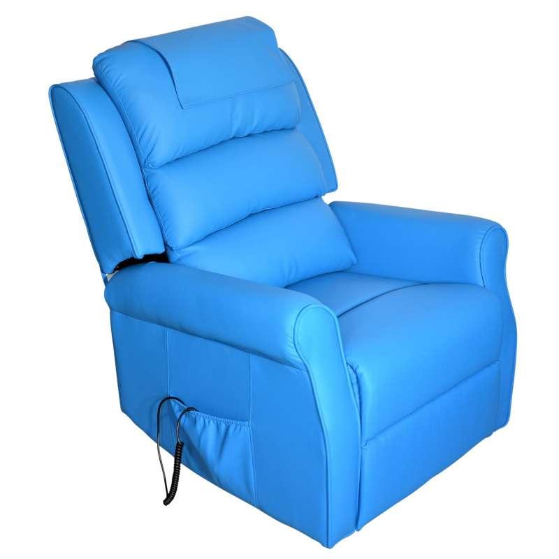 Fernsehsessel Bertha Blau