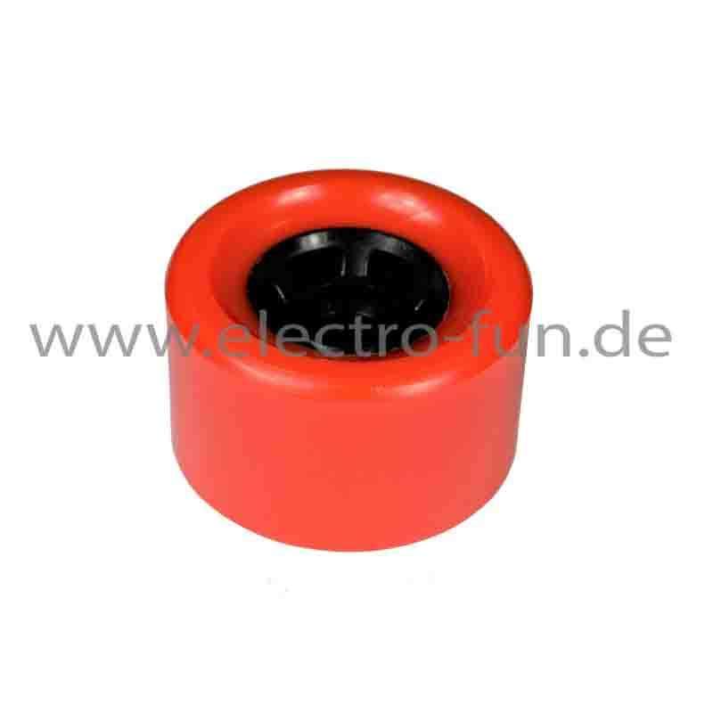 Rad rot für 1200 Watt Elektroskateboard
