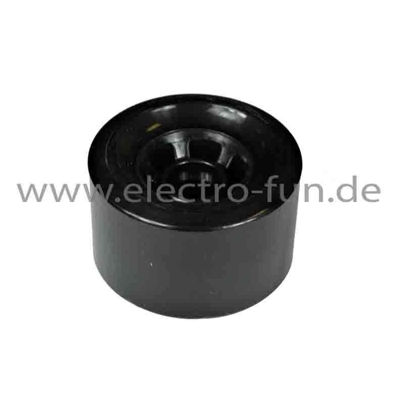 Rad schwarz für 1200 Watt Elektroskateboard