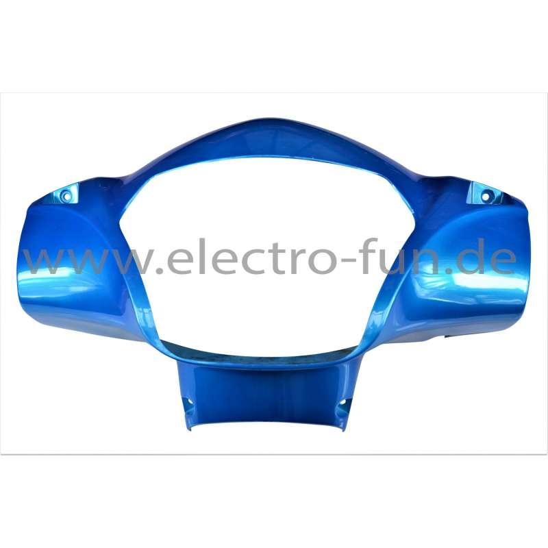 Scheinwerfer Abdeckung Blau