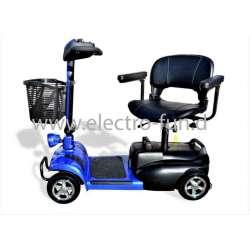 Elektromobil Eco Engel 401 Blau Elektro 4 Rad, 6 km/h