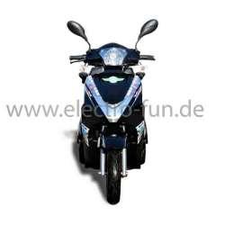Seniorenmobil Eco Engel 503 Schwarz mit Lithium Akku, Zweisitzer, 25 km/h