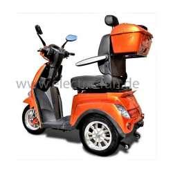 Elektro Dreirad ECO ENGEL 504 Terracotta, Seniorenmobil mit Lithium Akku, 25 km/h