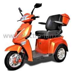 Seniorenmobil ECO ENGEL 504 Terracotta. Modernes Elektromobil, 25 km/h