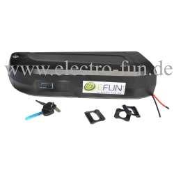 Lithium Ionen Akku 36 Volt 10 Ah HAILONG E-Bike