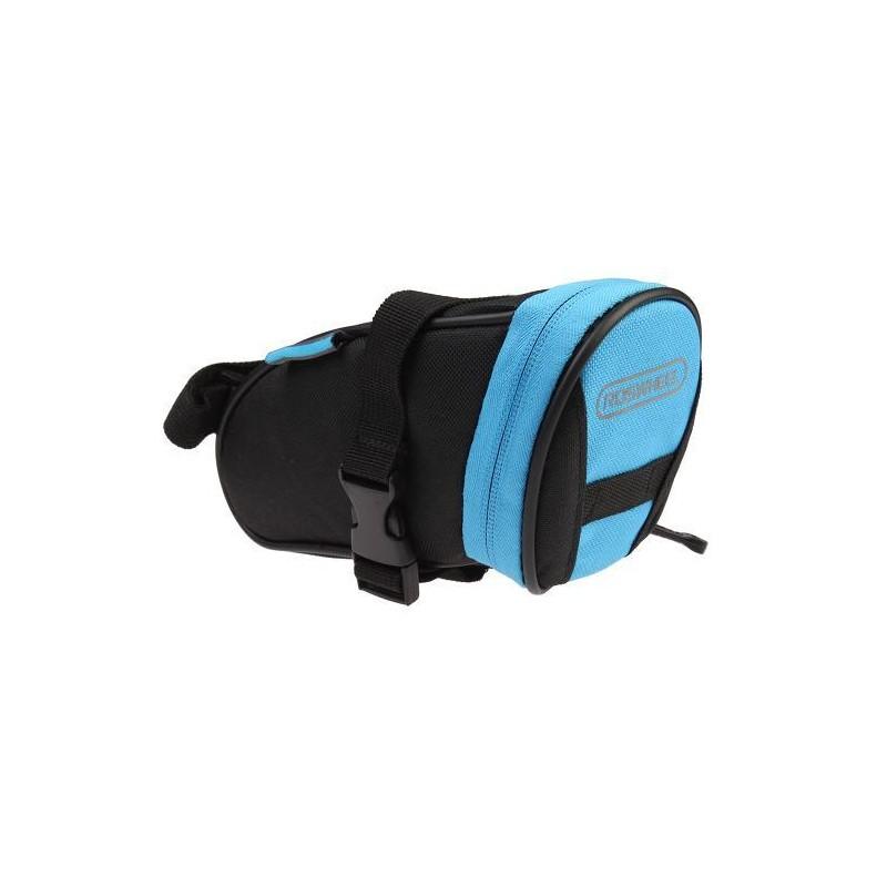 Satteltasche Roswheel Blau, Rot und Schwarz