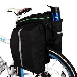 Roswheel Gepäckträger-Fahrradtasche mit Regenschutz